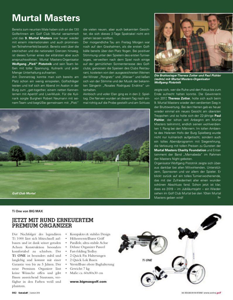 Nachbericht - Golf Extra